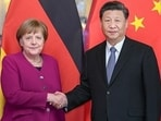 German Chancellor Angela Merkel with Chinese president Xi Jinping at China-France global governance forum in Paris, in 2019.(Pic: china-embassy.org)