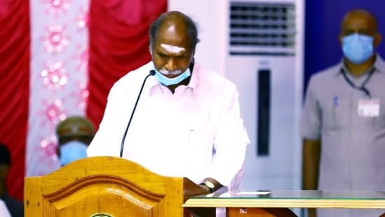 Puducherry chief minister N Rangasamy (ANI Photo)