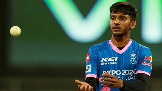 RR pacer Chetan Sakariya(IPL)
