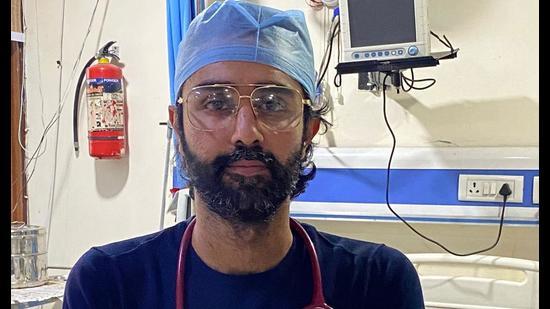 Dr Harmandeep Singh Boparai. (HT Photo)