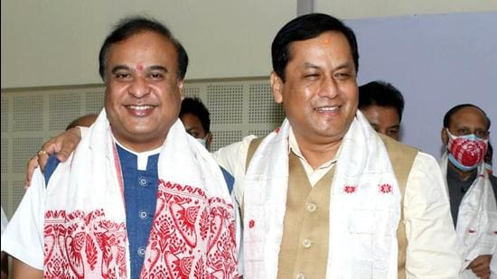 Mr Sarma soon became indispensable in enabling the party's expansion across states in the region through electoral victories in Manipur and Tripura or stitching together coalitions in Nagaland and Meghalaya (ANI)
