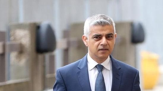 London mayor Sadiq Khan (File Photo/Reuters)