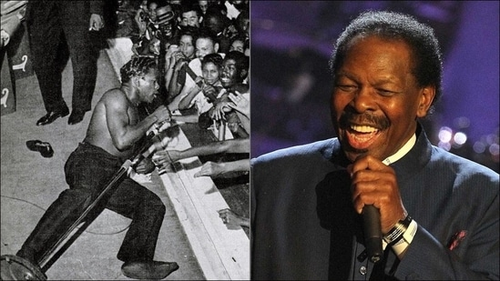 Lloyd Price, singer-songwriter and early rock influence, dies in New York at 88(Twitter/alecreyna98/TheRevAl)