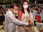 Riniki Bhuyan Sarma was all praise for her 52-year-old husband in the manner he tackled the Covid-19 pandemic in the state and