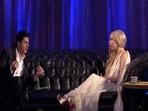 Shah Rukh Khan once interviewed Lady Gaga.