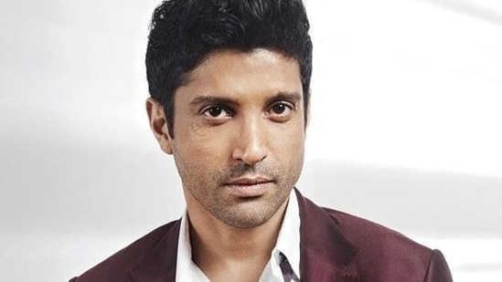 Farhan Akhtar responded to a Twitter user criticising him for using a drive-in vaccination facility.