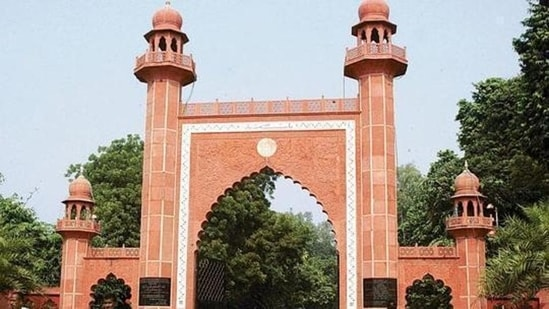 At least 15 serving faculty members, 25 retired teaching faculty, 15 staff members and two schoolteachers from AMU have died in the past three weeks of Covid-19.(HT File Photo)
