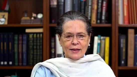 Congress chief Sonia Gandhi took charge of the party in 2019 when Rahul Gandhi resigned following the Congress' debacle in that year's national elections.(HT File Photo)