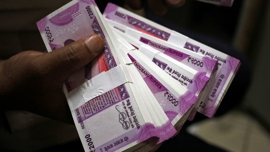 The rupee started on a stronger note against the dollar supported by improved risk appetite in the global and regional markets and a weak dollar. (Representational Image)