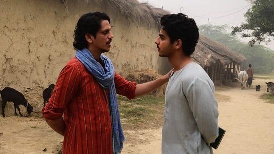 Vijay Varma and Ishaan Khatter in A Suitable Boy.