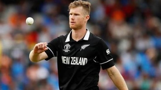 New Zealand's Jimmy Neesham says he would sign up again if IPL 2021 was to restart.(Reuters)
