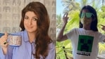 Twinkle Khanna shares a picture of daughter Nitara.