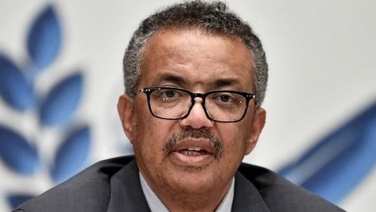 World Health Organization (WHO) Director-General Tedros Adhanom Ghebreyesus(Reuters)