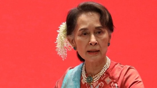 Multiple court hearings in the capital Naypyidaw have seen Aung San Suu Kyi - who attended via video conferencing from under house arrest - express frustration at the pace of the proceedings.(Reuters)