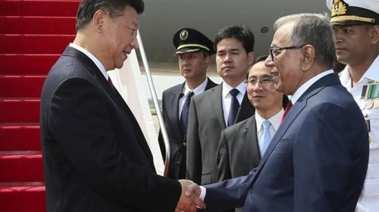 """Chinese Defence Minister Gen. Wei Fenghe emphasied to Bangladesh President Abdul Hamid that Beijing and Dhaka should make joint efforts against powers from outside the region establishing a """"military alliance""""(Reuters file)"""
