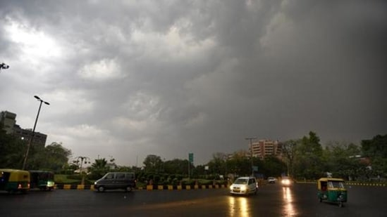News updates from Hindustan Times: Delhi is likely to see a partly cloudy sky on Tuesday with the possibility of thunder and lightning on Tuesday. (Representational Image / HT archive)