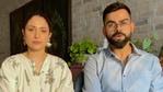 Virat Kohli and Anushka Sharma shared a video on their social media handles.