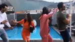 Abhinav Shukla and Aastha Gill were tricked into doing the chicken dance.