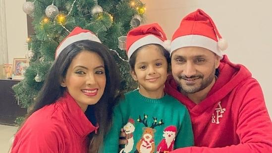 Geeta Basra and Harbhajan Singh have a four-year-old daughter, Hinaya.
