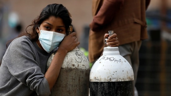 India is reeling under the impact of a highly infectious second wave of the Covid-19 disease and the country's medical infrastructure is in tatters.(REUTERS)