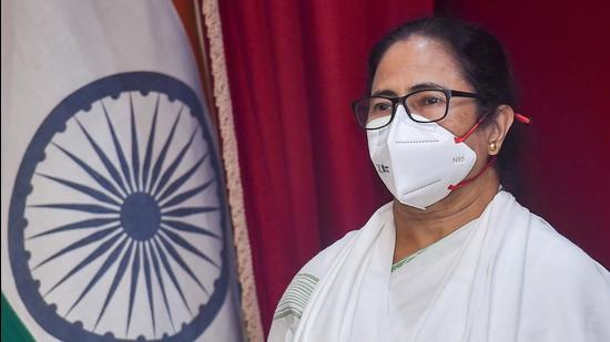 On Wednesday evening,CM Mamata Banerjee shot off a letter to governor Jagdeep Dhankhar and cited rules and provisions of the Constitution. (PTI PHOTO.)