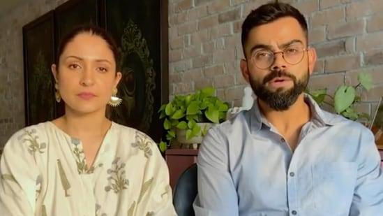 Virat Kohli and Anushka Sharma have shared a video on their social media handles.