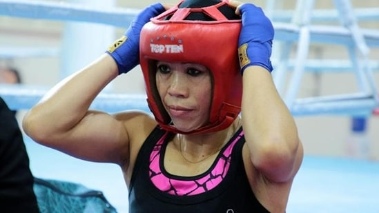 Mary Kom, Lovlina get first dose of COVID-19 vaccine