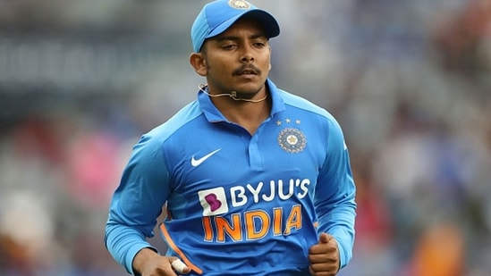 After being ignored for the England Tests, all eyes will be on Prithvi Shaw for the Sri Lanka series. (Getty Images)