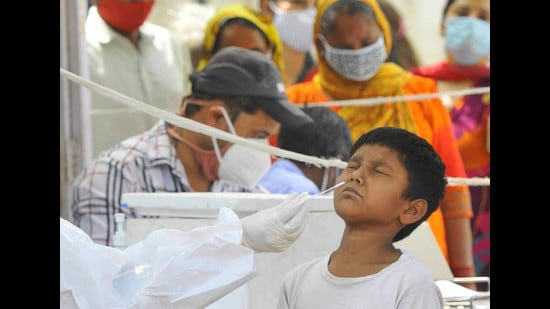 Punjab has no dedicated wards for children infected with virus