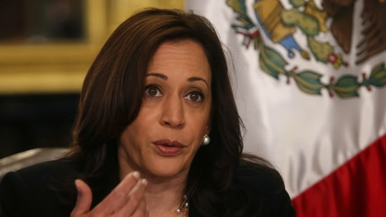"""""""I appreciate the opportunity to speak directly with Vice President Harris about the ongoing Covid-19 crisis in India,"""" Bera said a day after he joined a May 11 Congressional Asian Pacific American Caucus (CAPAC) meeting with Harris at the White House.(Reuters)"""