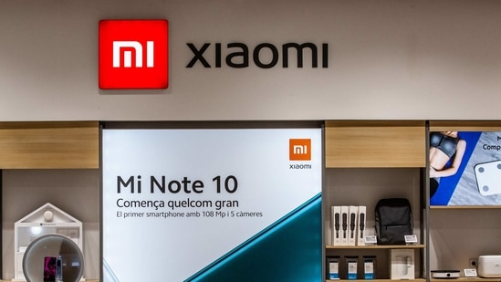 A XIaomi outlet (Bloomberg)