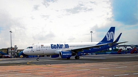 GoAir reported a net loss of <span class='webrupee'>₹</span>1,278.60 crore in 2019-20 versus a net profit of <span class='webrupee'>₹</span>123.34 crore in 2018-19, according to latest figures from the ministry of corporate affairs.(MINT_PRINT)