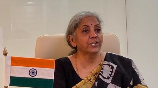 Finance minister Nirmala Sitharaman (@FinMinIndia)