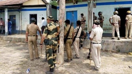 Elections to two constituencies of West Bengal -- Samsherganj and Jangipur -- will take place on Thursday under tight security.(PTI)