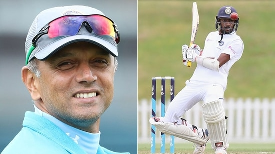 For Abhimanyu Easwaran, there was nothing greater than playing under the guidance of his idol, Rahul Dravid.(Getty Images)