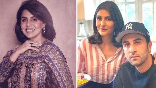 Neetu Kapoor talks about not living with Ranbir Kapoor and Riddhima Kapoor Sahni.