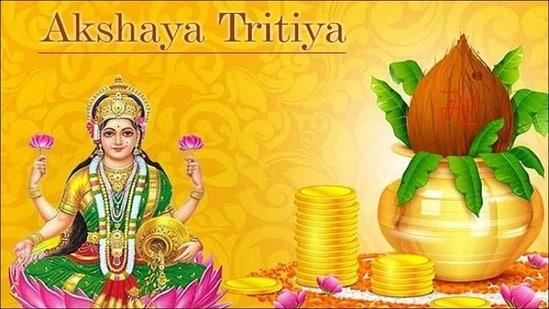 Akshaya Tritiya 2021: Date, history, puja time, celebration of Akha Teej or Akti(Twitter/streetgains)
