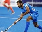 Hockey forward Gurjant Singh. (Hockey India)
