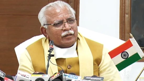 Haryana chief minister Manohar Lal Khattar said Covid-19 was spreading to some villages as a result of the farmers' protest.