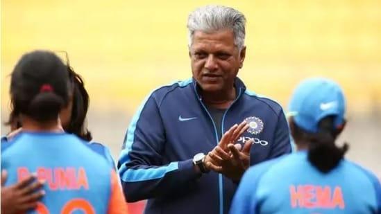 Former India women's cricket coach WV Raman(Twitter)