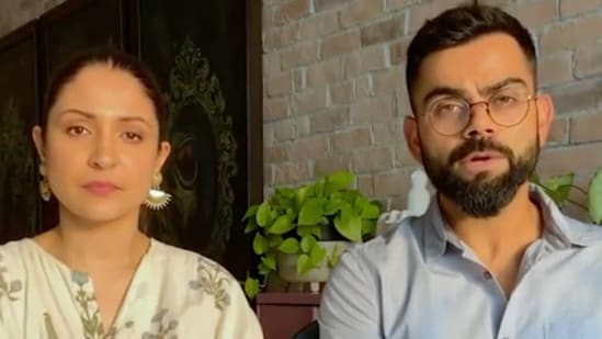 Virat Kohli and Anushka Sharma(Twitter)