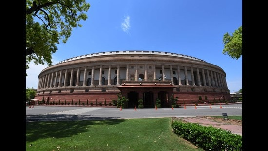 Leader of Opposition in the Rajya Sabha Mallikarjun Kharge last week asked chairman Venkaiah Naidu to allow online meetings as many key subjects and issues are pending. (Mohd Zakir/HT Archive)