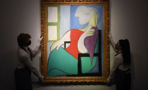 Picasso painting sells for $103 mn in New York: auction house(AFP)