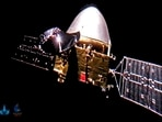 After more than six months in transit, Tianwen-1 reached the Red Planet in February where it had been in orbit since.(AP)