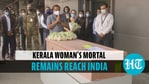 Mortal remains of Kerala woman killed in rocket attack in Israel arrive in India