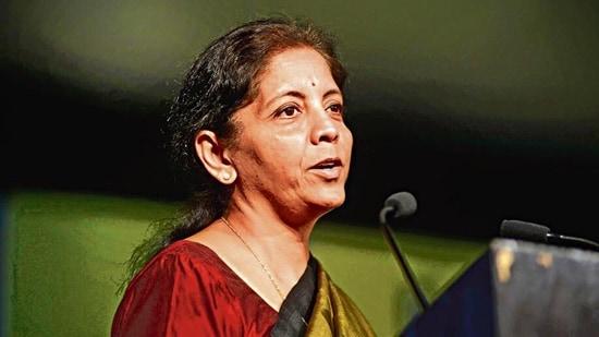 Finance minister Nirmala Sitharaman.(MInt)