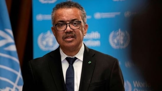 """Tedros Adhanom Ghebreyesus, Director General of the World Health Organization (WHO), noted that Covid-19 has cost more than 3.3 million lives across the world, """"We're on track for the second year of this pandemic to be far more deadly than the first,"""" he said.(Reuters)"""