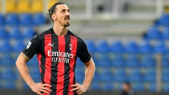 FILE PHOTO: AC Milan's Zlatan Ibrahimovic.(REUTERS)