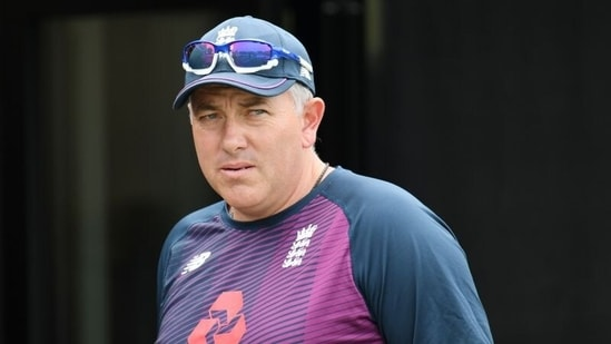 FILE PHOTO: England head coach Chris Silverwood during nets.(REUTERS)