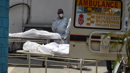 Mortuary services for coronavirus patients are provided free of cost in private as well as government facilities. (ANI Photo)